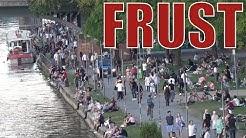 Keiner hält sich an Abstandsregeln - Stream-Zusammenfassung letzten Donnerstag Frankfurt #Corona