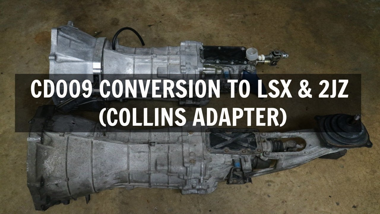 Repeat CD009 (350Z) CONVERSION TO LSX & 2JZ USING COLLINS ADAPTER by