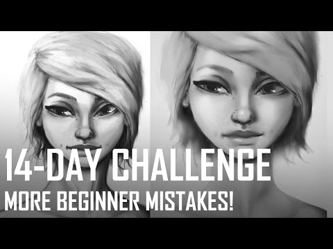 Critique Hour! 14 Day Challenge-More Beginner Mistakes