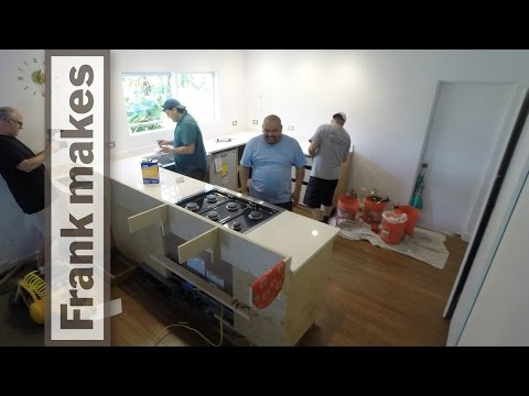 Kitchen Remodel: Part 11 - Stove and Countertops