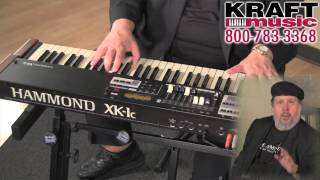 Hammond XK-1c Series Organ Demo with Scott May