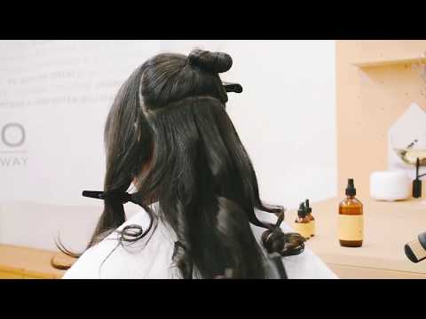 Oway Thermal Stress Protector Hair Styling Tutotrial