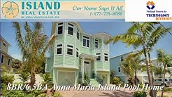 8 Bedroom Luxury Vacation Rental Home on Anna Maria Island