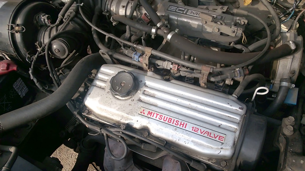 Lancer 1991 c62 4g15 4g15 engine  YouTube