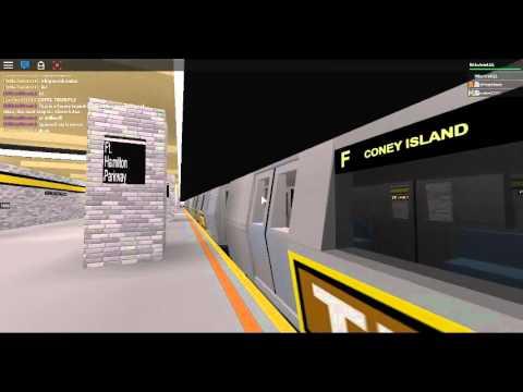 IND Subway: Coney Island bound R160A-2 TIX Ad-Wrapped (F ...