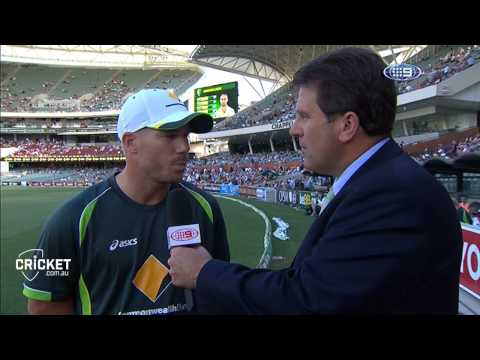 Warner interviewed by Mark Taylor