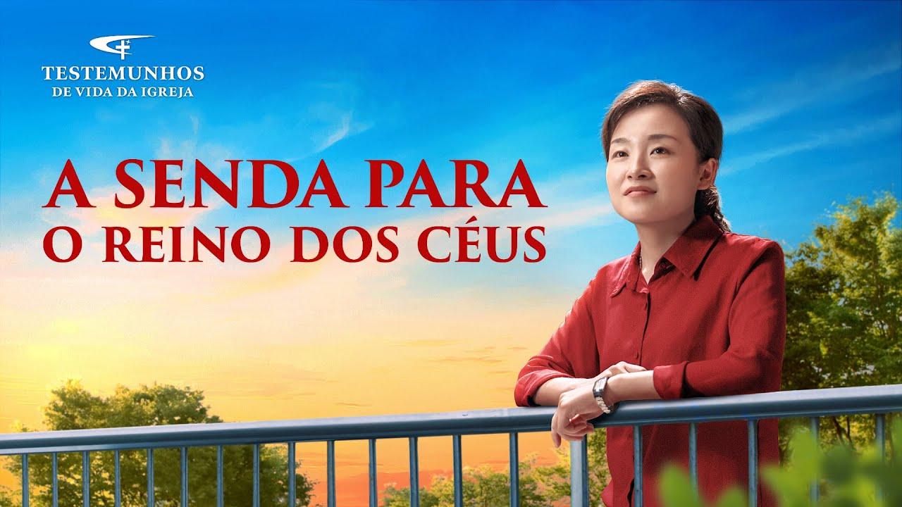 """Testemunho de fé """"A senda para o reino dos céus"""""""
