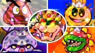 Paper Mario: Sticker Star - All Bosses & Ending