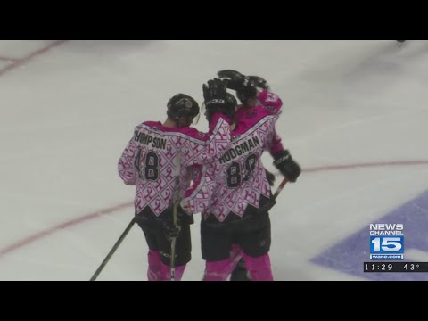 Komets win again as they beat Greenville in OT on 2/24/18