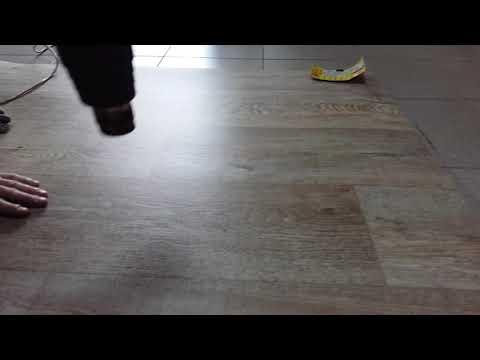 Исправляем дефекты, или Как разгладить линолеум на полу