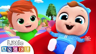 Hide and Seek at the Playground | Peek a Boo | Nursery Rhymes by Little Angel