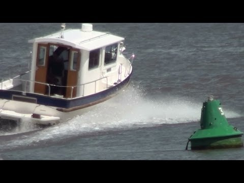 The Barrow river run, with speed boat
