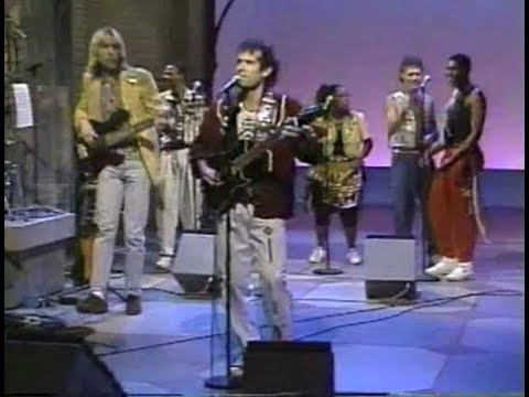 Johnny Clegg and Savuka on Late Night, June 27, 1990