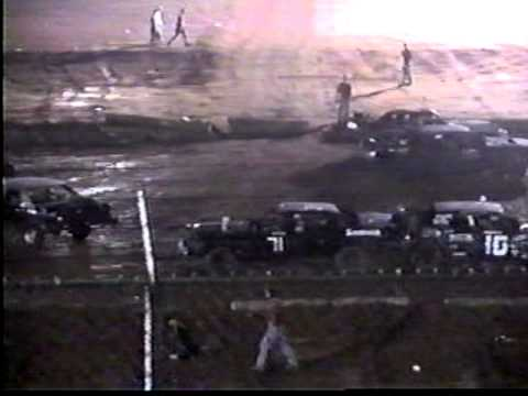 Clinton County speedway Hard hit #6