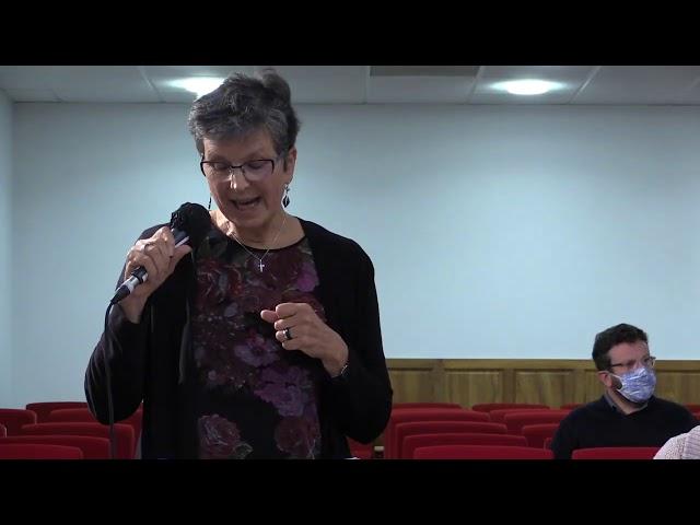 Christine GRAVEN du service diocésain diaconie et soin du diocèse de Grenoble