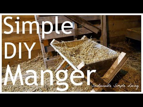 Easy DIY Manger – Great for nativity scenes