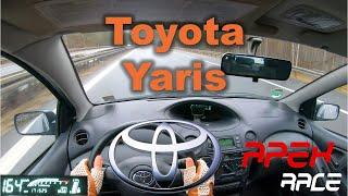 2005 Toyota Yaris / Vitz 1.0 | POV | Top Speed German Autobahn | Test Drive | 4K