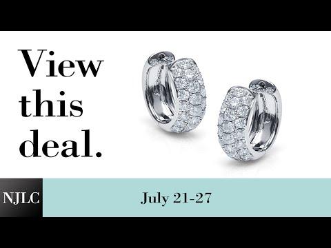 deal-of-the-week:-diamond-huggie-earrings
