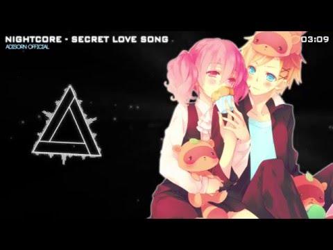 Nightcore - Secret Love Song