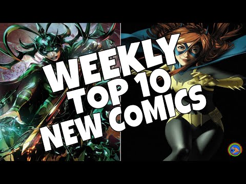 HOT TOP 10 NEW COMICS TO BUY FOR MAY 22nd - NCBD WEEKLY PICKS FOR NEW COMIC BOOKS - MARVEL and more