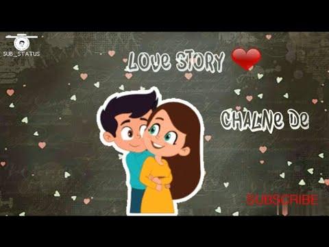 Chori chori Teri meri ❤ love story | status