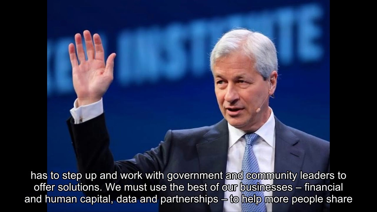 JAMIE DIMON: 'There is hope for solving our biggest challenges'