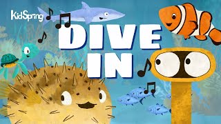 Lileina Joy: DIVE IN Episode 1 Clip (KidSpring Ministries Animated Series)