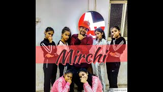 DIVINE - MIRCHI Feat. stylo G, MC Altaf & Phenom..  Anand AJ Choreography.