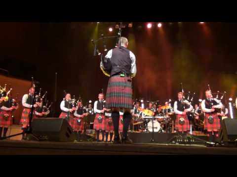 02 Field Marshal Montgomery Pipe Band 2016 Glasgow Royal Concert Hall