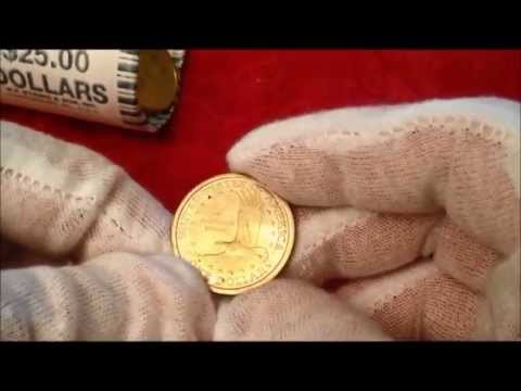 LIVE UNROLL 2000P SACAGAWEA GOLD DOLLARS DO WE FIND THE $2500 ERROR COIN?