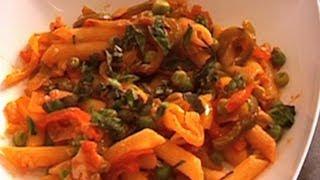 Peas And Pepper Pasta Recipe