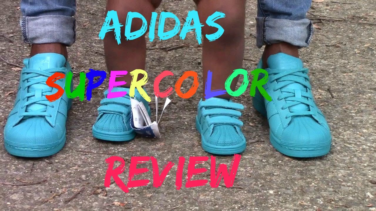 Pharrell Williams adidas superstar Supercolor Lab Verde semi