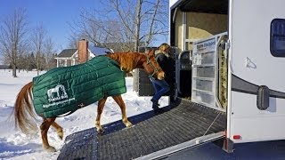 MrTruck reviews Stable Boy module horse stall for RV Toy Hauler