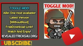 HOW TO DOWNLOAD MINI MILITIA TOGGLE MOD[NO ROOT] | MUST WATCH.
