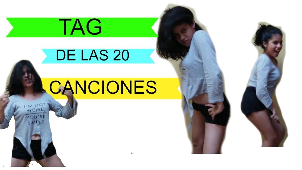 TAG DE LAS 2O CANCIONES !!!