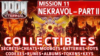 Doom Eternal - Nekravol Part 2 All Collectible Locations (Secrets, Collectibles, Cheats, Upgrades)