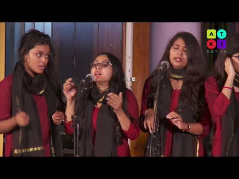 Amazing Indian Group Choir Performance by Daulat Ram College Girls | Rendezvous 2016
