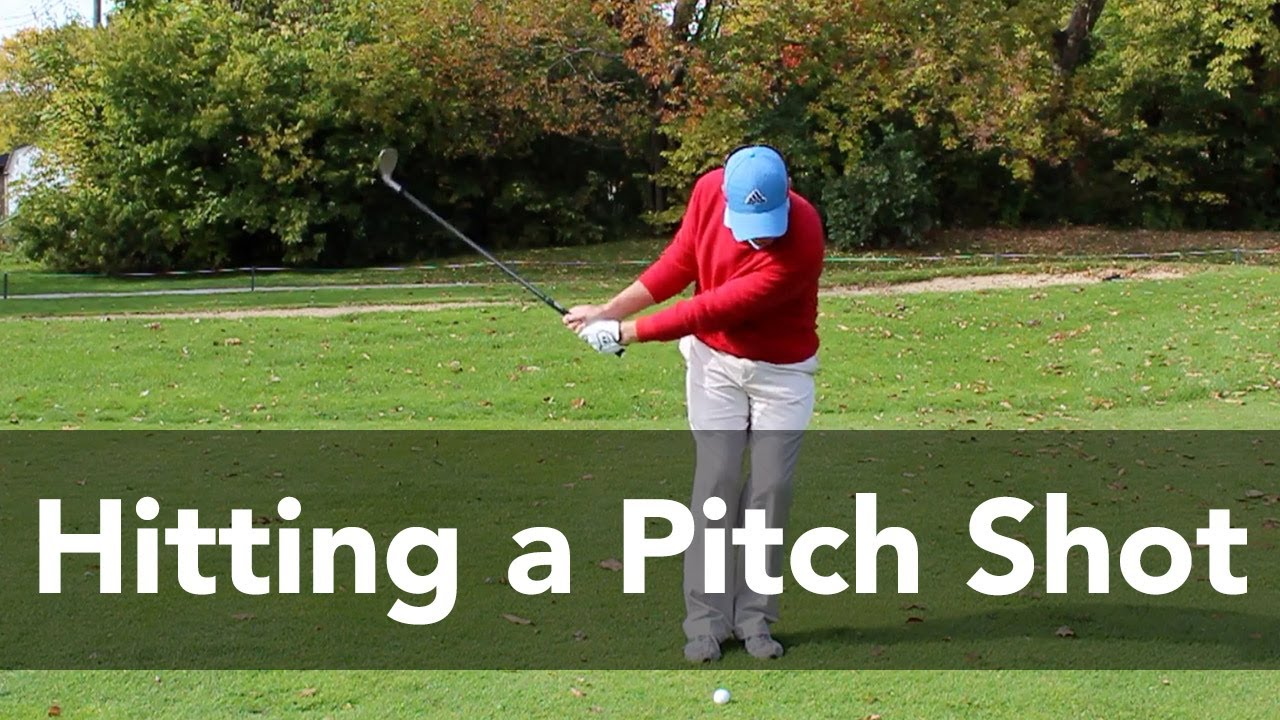 how to hit a pitch shot from 20 yards golf instruction my golf