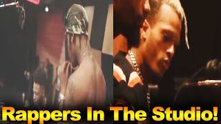 Rappers In The Studio Compilation (xxxtentacion, Young thug, 21 Savage etc...)