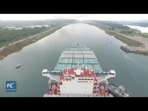 55 ships pass through new locks in first month after expansion of Panama Canal