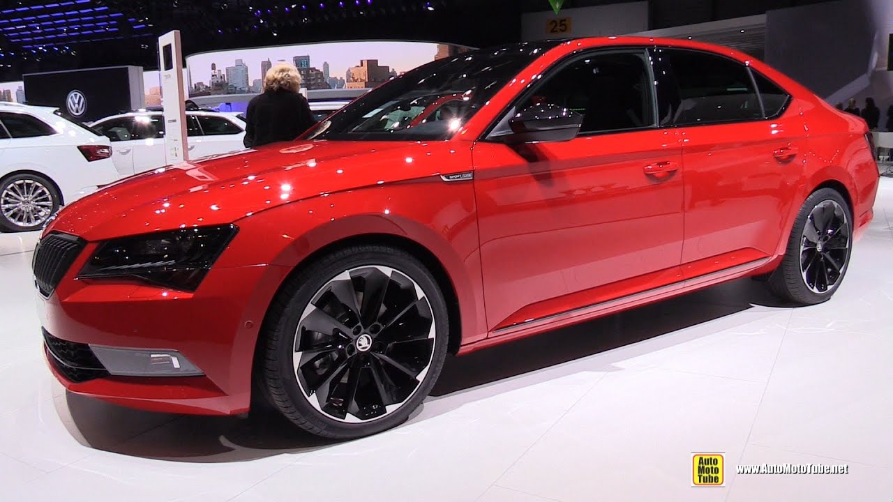 2016 skoda superb sportline 2 0 tdi exterior and interior walkaround 2016 geneva motor show. Black Bedroom Furniture Sets. Home Design Ideas