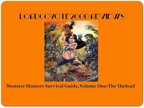 Comic book of the week 8: Monster Hunters Survival...