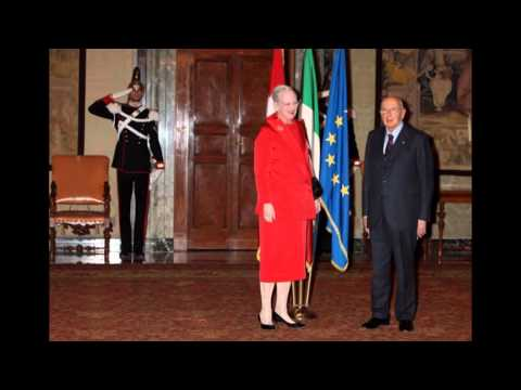 Queen Margrethe II of Denmark Attends Concert At Presidential Palace