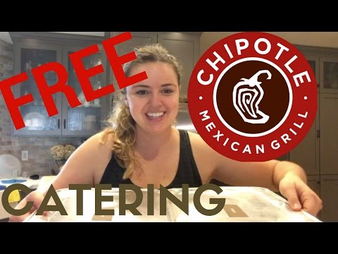 FREE catering @ Chipotle