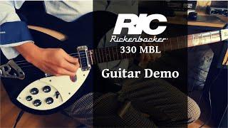 Rickenbacker 330 MBL - Guitar Demo