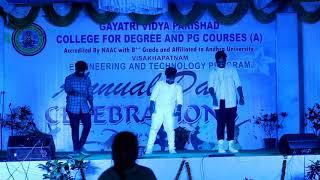 annual day 2020 || gayatri vidya parishad RUSHIKONDA (GVP) || pk made in andhra student cover song