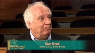 Career Interview with Dean Hirsch, Former President of World Vision International