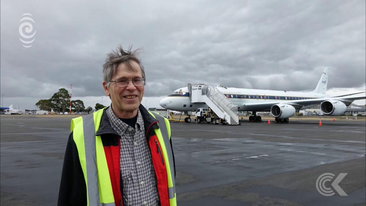 NASA's flying laboratory touches down | RNZ News