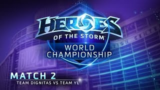 Team Dignitas vs Team YL - Match 2 - Heroes of the Storm World Championship 2015