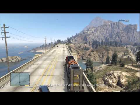 Grand Theft Auto V: Delivering The Cars To Devin